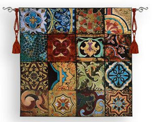 kaleidoscopic wall hangings tapestries
