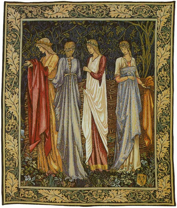 The Ladies of Camelot Woven Wall Decor