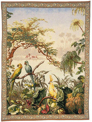 Exotic Tapestry Wall Hanging