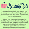 The Reason Behind Healthy Tote & a Free Wellness Journal