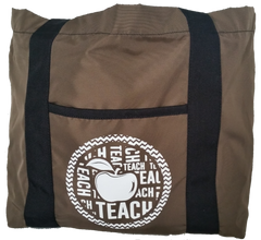 Stylish Teacher Tote Bag with Compartments