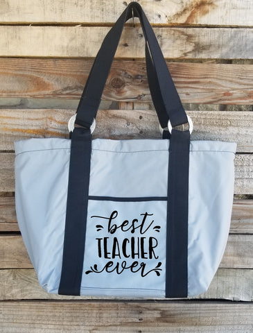 Teacher Tote - Best Teacher Ever