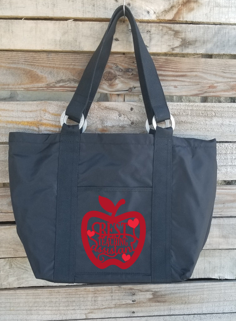 Teacher Tote - Best Teaching Assistant Apple