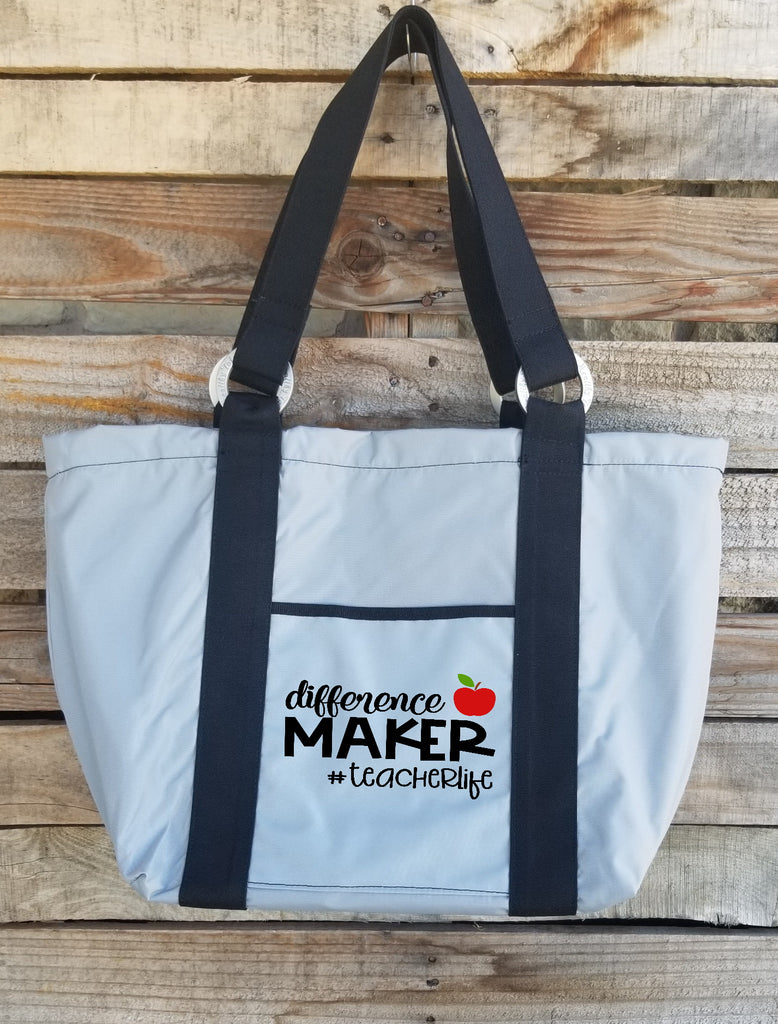 Teacher Tote - Difference Maker Teacher Life