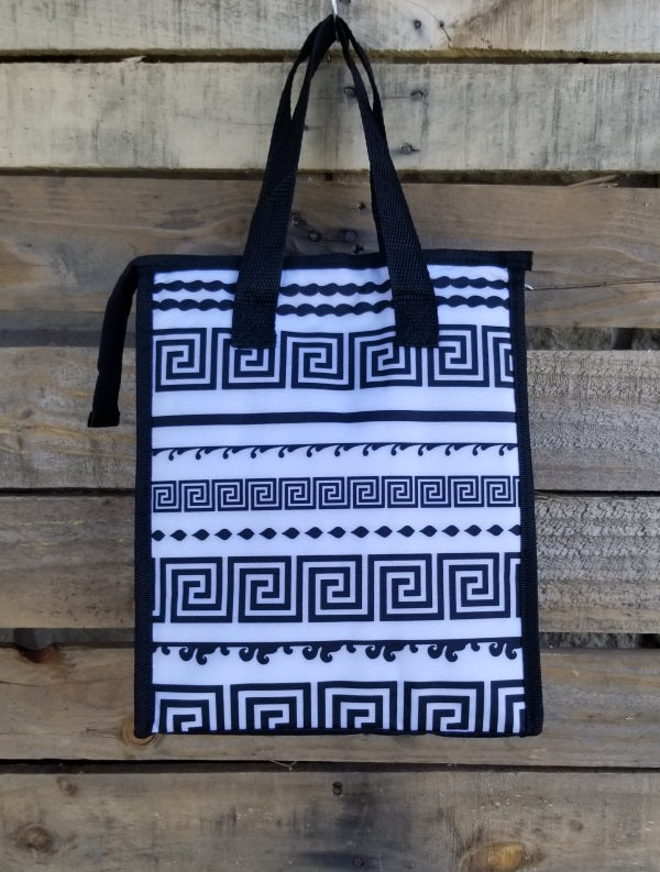 Lunch Bag-Black and White