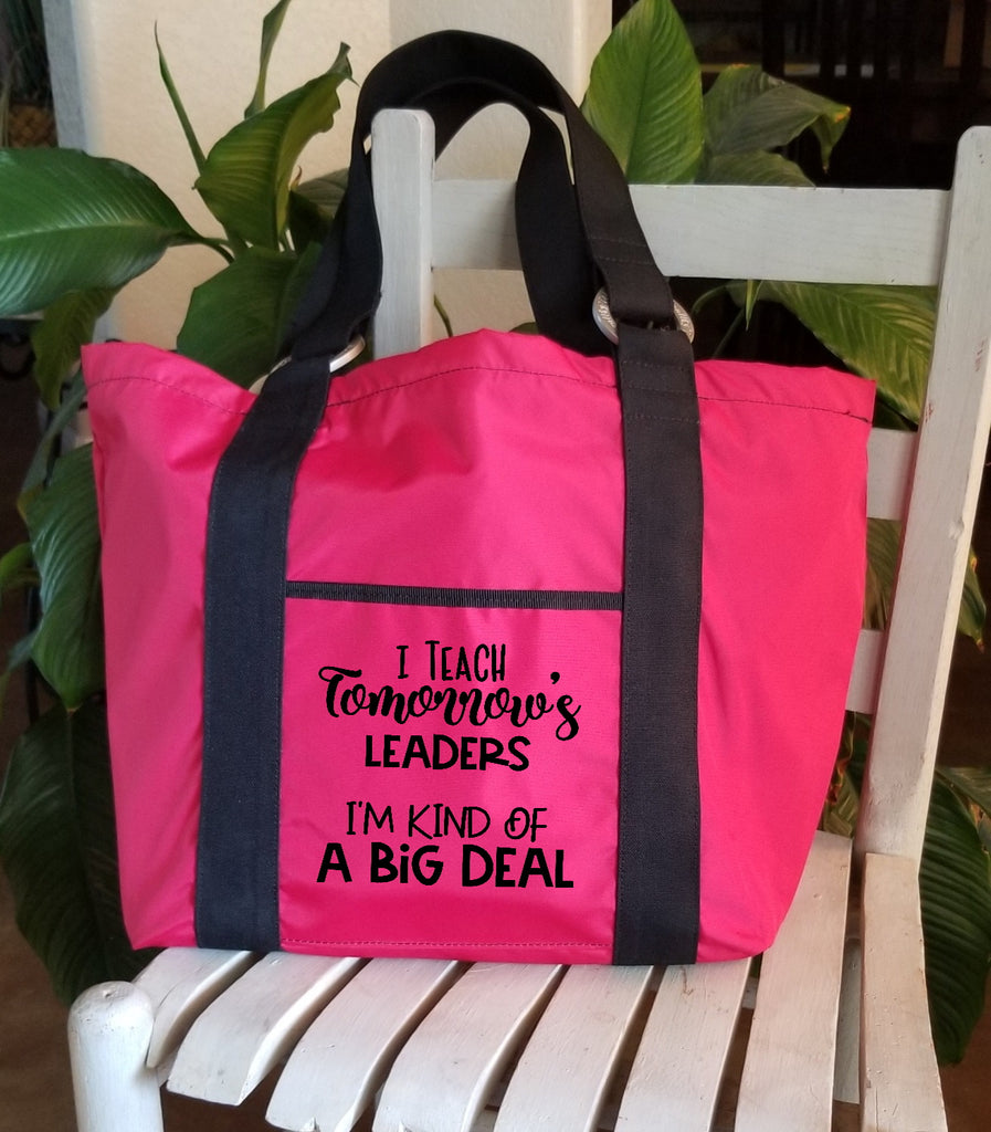 Teacher Tote - I Teach Tomorrow's Leaders