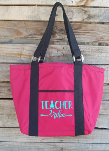 Teacher Tote - Teacher Tribe