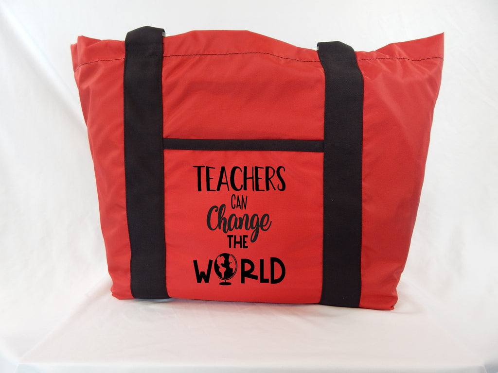 Teacher Tote - Teachers Can Change The World
