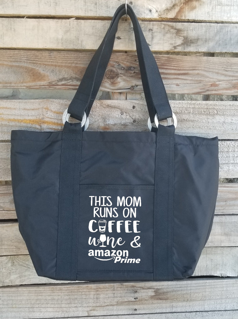 This Mom Runs on Coffee, Wine, & Amazon Prime