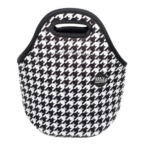 Lunch Bag-Neoprene-Black & White