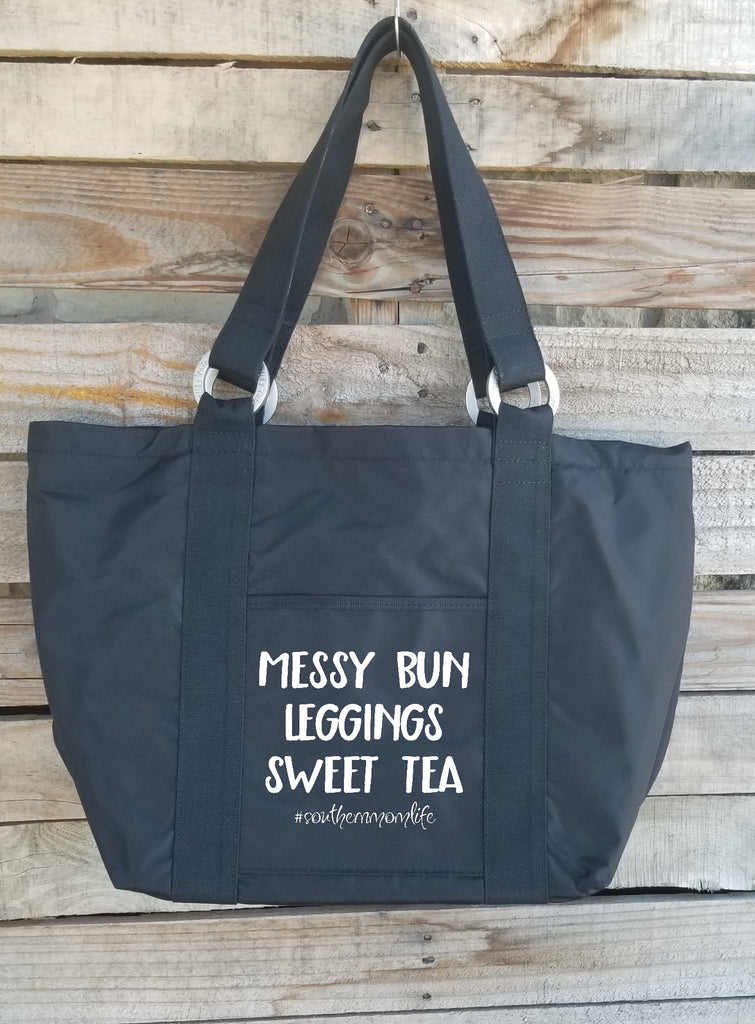 Messy Bun Leggings Sweet Tea