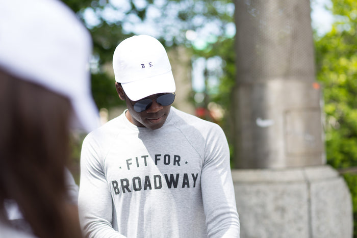 The BE for Broadway Hat (White)