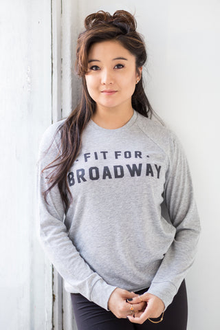 """Fit for Broadway"" Women's Pullover (Grey)"