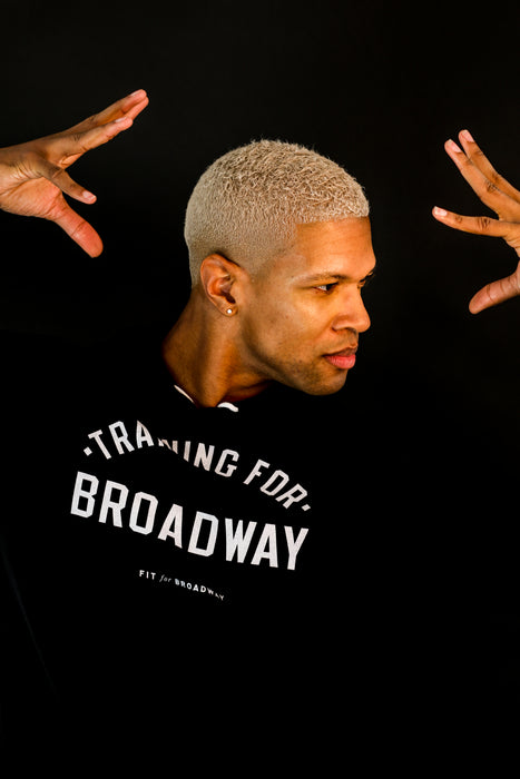 """Training for Broadway"" Sweatshirt (Black)"