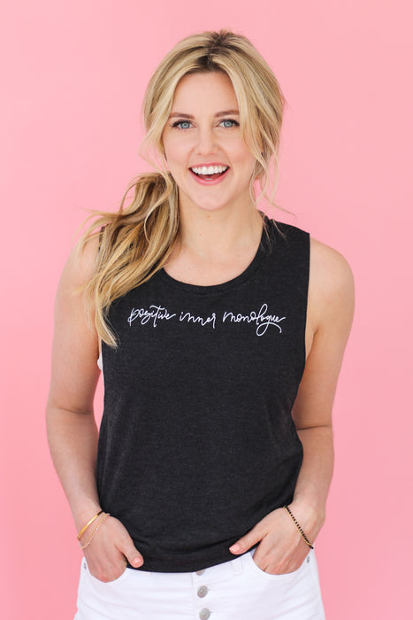 Positive Inner Monologue Tank (FFB X Taylor Louderman)
