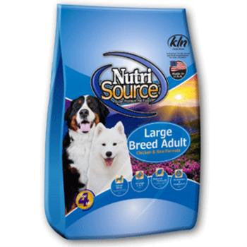 NutriSource Chicken & Rice Large Breed Recipe