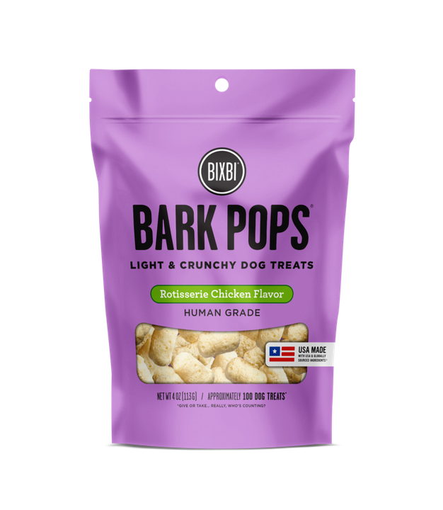Bixbi Bark Pops Rotisserie Chicken