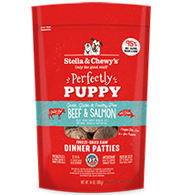 Stella & Chewy's Freeze-Dried Perfectly Puppy Beef & Salmon