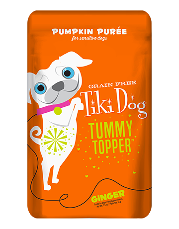 Tiki Dog Pumpkin Tummy Topper with Ginger
