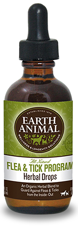 Earth Animal Flea & Tick Herbal Drops