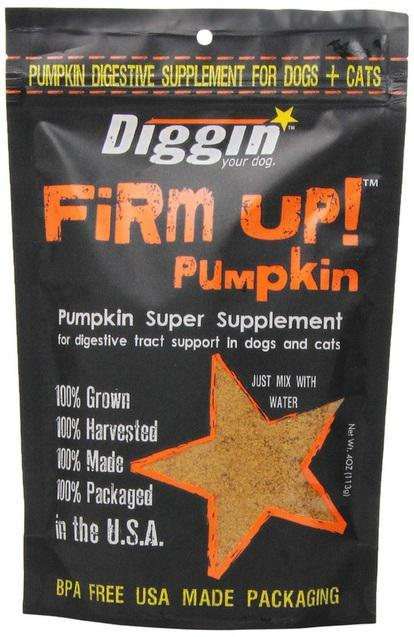Diggin' Your Dog Firm Up! Pumpkin Supplement