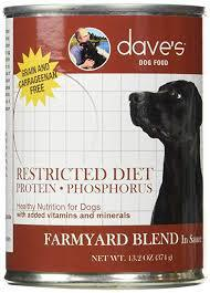 Dave's Farmyard Blend Restricted Protein Formula