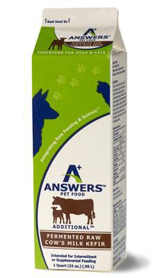 Answers Cow Milk Kefir