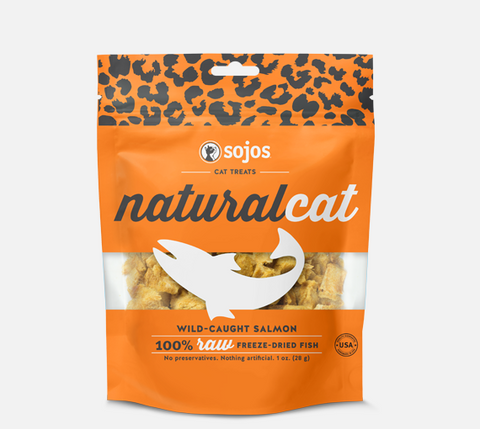 Sojos Natural Cat Salmon Treats