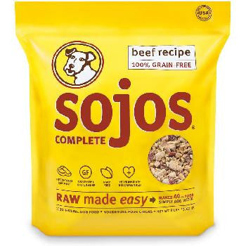 Sojos Complete Beef Dog Food