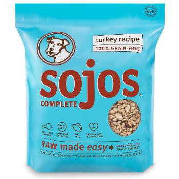 Sojo's Grain Free Complete Turkey Dog Food Mix