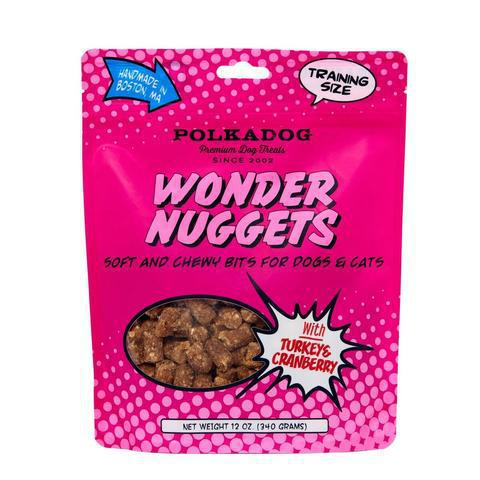 Polkadog Wonder Nuggets Turkey & Cranberry