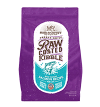 Stella & Chewy's Raw Coated Wild-Caught Salmon Kibble for Cats