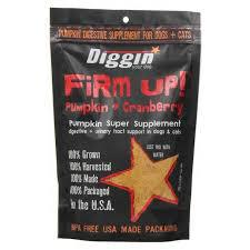 Diggin' Your Dog Firm Up Pumpkin + Cranberry