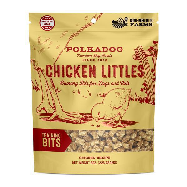 PolkaDog Bakery Chicken Littles Training Bits