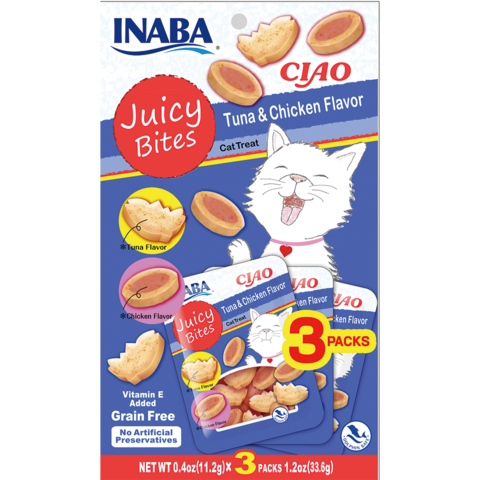 Ciao Juicy Bites Tuna & Chicken Treats