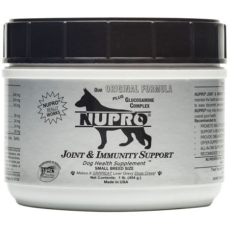 Nupro Silver Small Breed Joint & Immunity Support Dog Supplement