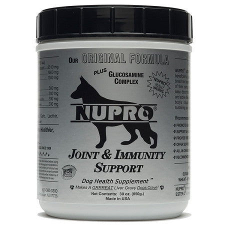 Nupro Silver Joint & Immunity Support Dog Supplement