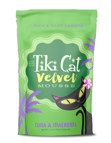 Tiki Cat Velvet Mousse Tuna & Mackerel Recipe