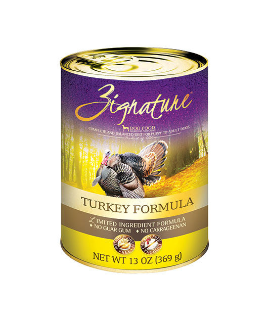 Zignature Canned Turkey Recipe