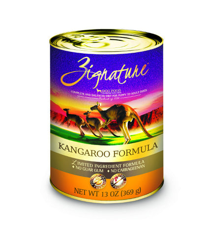 Zignature Canned Kangaroo Recipe