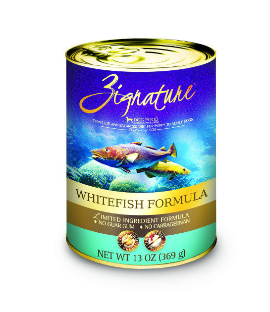 Zignature Canned Whitefish Recipe