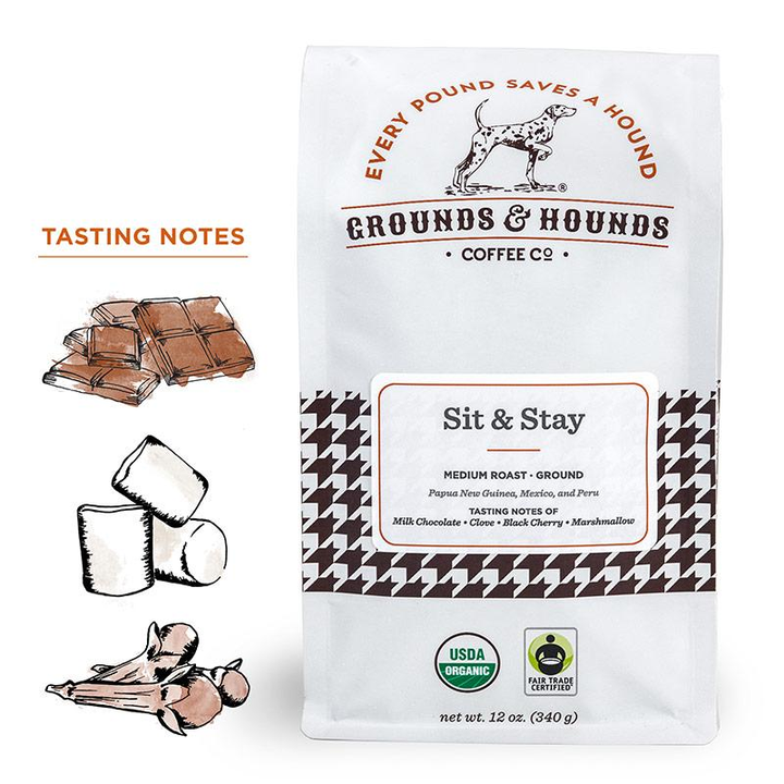 Grounds & Hounds Coffee Sit & Stay Blend