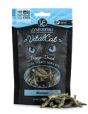 Vital Essentials Freeze-Dried Minnow Treats for Cats