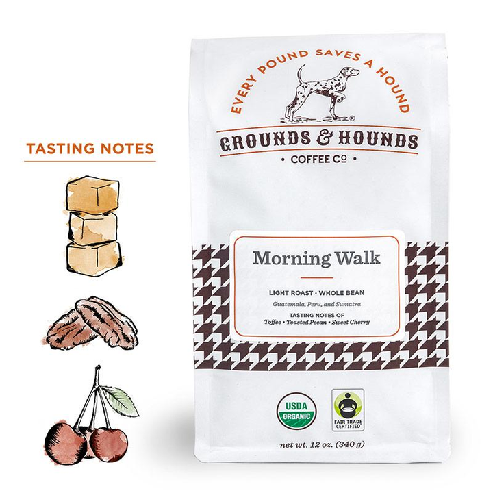 Grounds & Hounds Coffee Morning Walk Blend