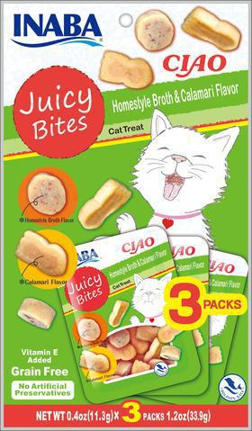 Ciao Juicy Bites Homestyle Broth & Calamari Treats
