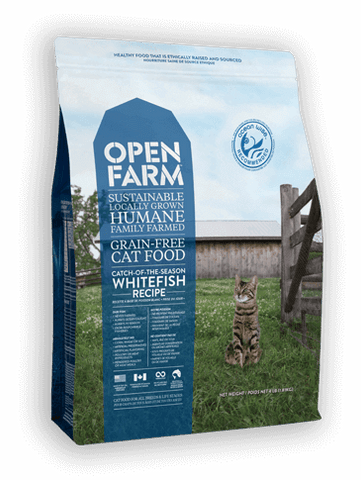 Open Farm Catch-of-the-Season Whitefish Cat Recipe