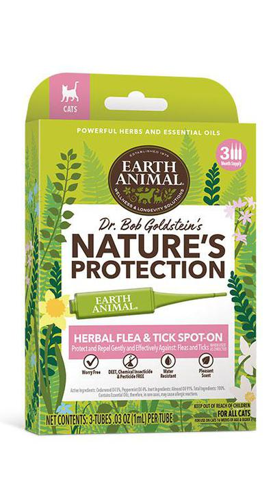 Earth Animal Herbal Flea & Tick Spot On for Cats