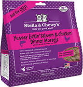 Stella & Chewy's FD Yummy Lickin' Salmon & Chicken Cat Recipe