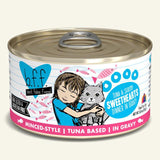 Weruva BFF Tuna and Shrimp Sweethearts Cat Food
