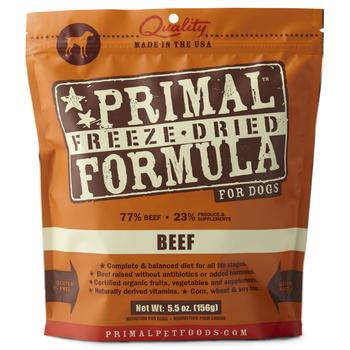 Primal Freeze-Dried Beef Formula